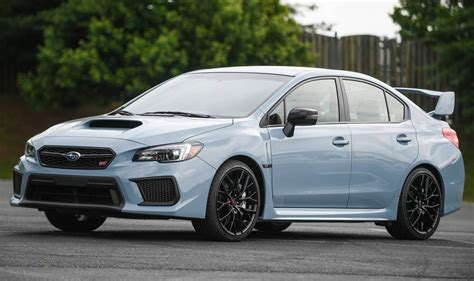 subaru wrx wrx sti seriesgray announced  usa