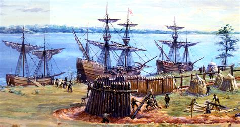 Jamestown Boat Supplies by Jamestown Was Found At Virginia At 1607 By 104 Also J