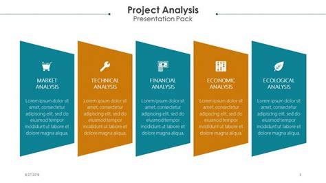 project analysis  powerpoint template