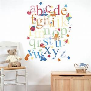 large alphabet stickers for walls w wall decal With letter wall stickers