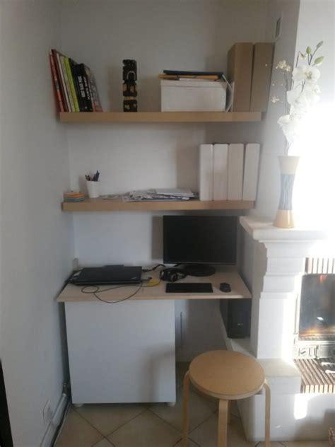 bureau salon un coin bureau dans le salon bidouilles ikea