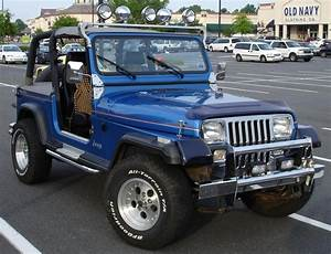 Jeep Wrangler 4 0 1992 Technical Specifications
