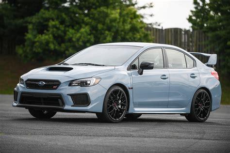 Subaru Wrx Upgrades by Subaru Upgrades Wrx Lineup With Limited Editions