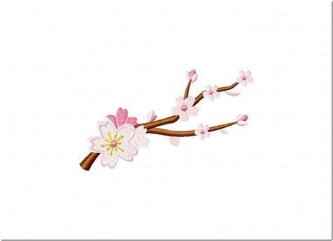 aneka motif bordir bunga sakura  busana muslimah