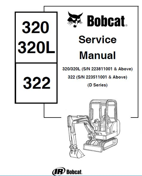 bobcat    series mini excavator service manual