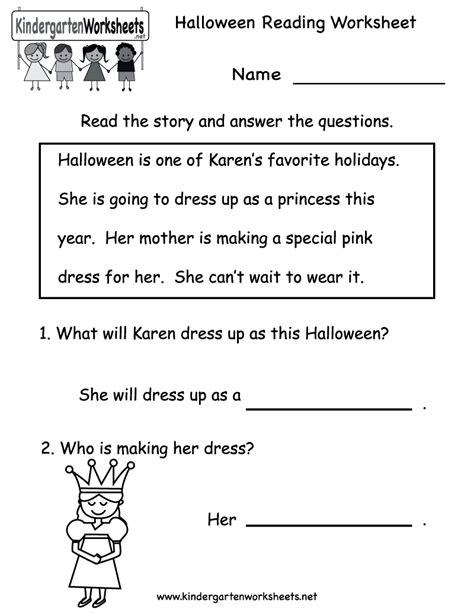 reading worksheets kindergarten kindergarten reading worksheet printable free