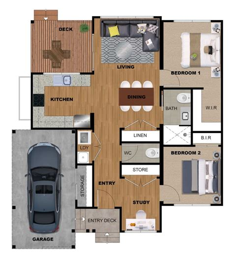 floor plan rendering services   price