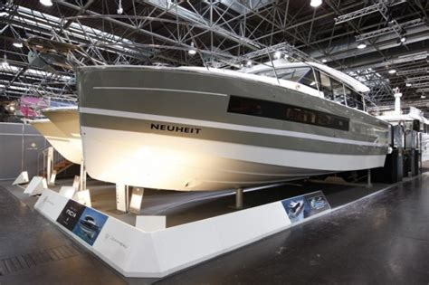 Motor Boats Monthly Online by Photos Of The Jeanneau Nc14 At Dusseldorf Motor Boat