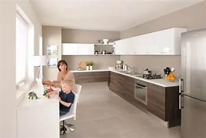 Modele De Cuisine Cuisinella : cuisine blanche cuisinella avec des id es ~ Premium-room.com Idées de Décoration