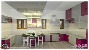 modular kitchen design trends 2017 kerala home design With latest kitchen designs in kerala