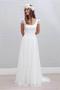 Robes De Mariée Bohème Chic : 10 robes de mari e adopter pour un look boh me chic the big day pinterest d collet s ~ Nature-et-papiers.com Idées de Décoration
