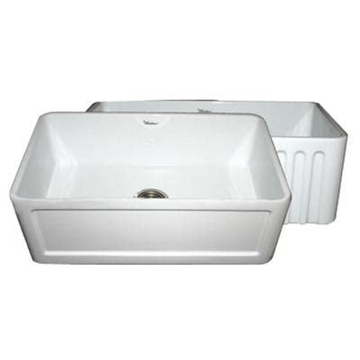 apron front single bowl kitchen sink whitehaus collection reversible farmhaus series all in one
