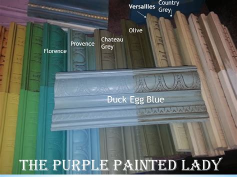 duck egg blue the purple painted