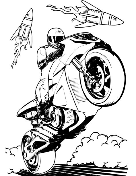 Hot Wheels Coloring Pages - GetColoringPages.com