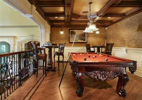pool table room decor a few decor ideas and suggestions for your billiards room