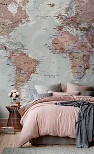 Graue Tapete Schlafzimmer : 1001 ideen in der farbe perlgrau zum inspirieren ~ Michelbontemps.com Haus und Dekorationen