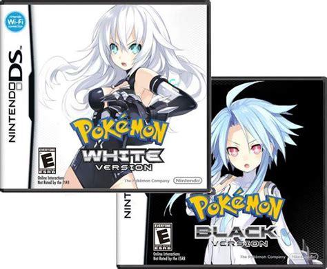 Neptunia Memes - pokemon white and black hyperdimension neptunia know