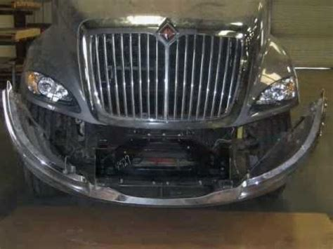 international prostar aftermarket chrome bumper install