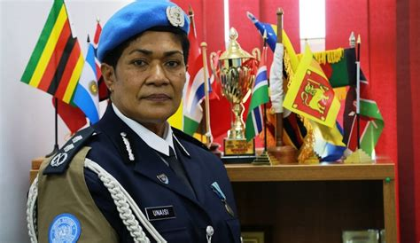 police commissioner urges  female officers