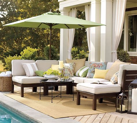 portico muebles outdoor garden furniture by pottery barn