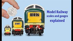 Scale Model Comparison Chart The Guide To Model Railway Scales Gauges Youtube