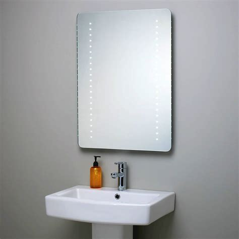 Illuminated Bathroom Mirrors With Socket by Kensington Illuminated Bathroom Mirror With Shaver Socket