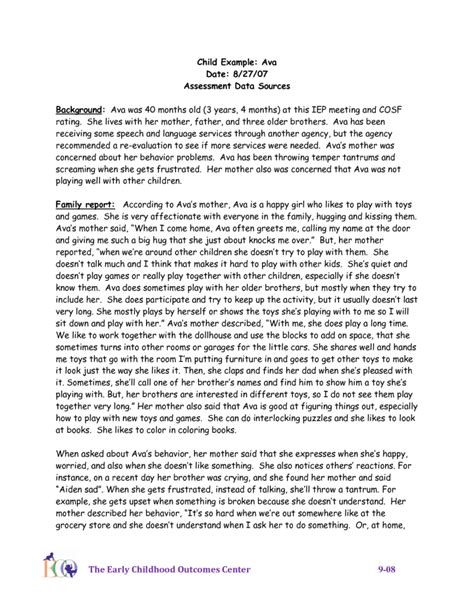 Child Development In Preschool Essay by Child Observation Essay Exles Fieldstation Co