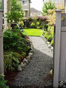Side, House, Landscaping, Ideas, With, Rocks, 28, U2013, Decoredo
