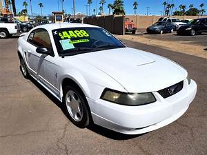 Used 2003 Ford Mustang Standard Coupe for Sale in Phoenix AZ 85301 New Deal Pre-Owned Autos