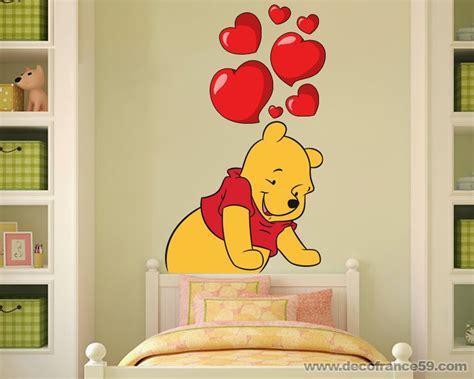 stickers chambre bébé disney davaus chambre bebe winnie the pooh avec des idées