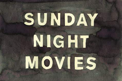 sunday night movies leanne shapton full stop
