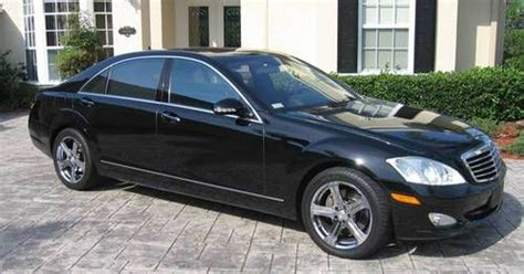 Sell Used 2007 Mercedes S550  Black  Excellent Condition