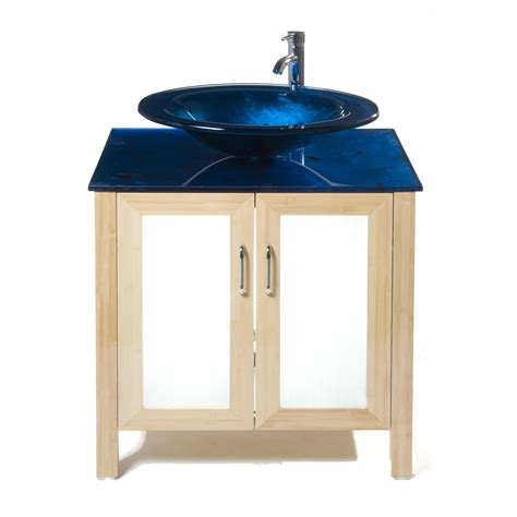 31 vanity top with sink shop bionic waterhouse 31 in x 22 in light bamboo single