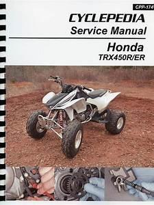 Honda Trx450r  Er Repair  U0026 Service Manual  2006
