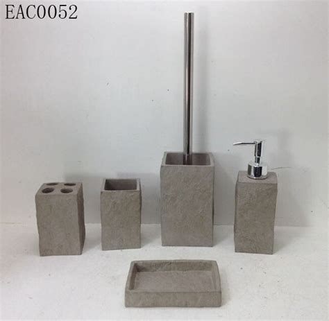Slate Bathroom Accessory Setshenzhen Hongying Arts And
