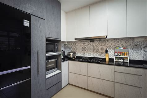kitchen design for hdb singapore condominium interior design at the grand duchess 4434