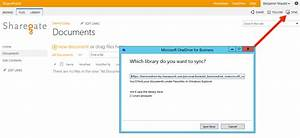 what is onedrive for business and what does it do sharegate With sharepoint document library onedrive