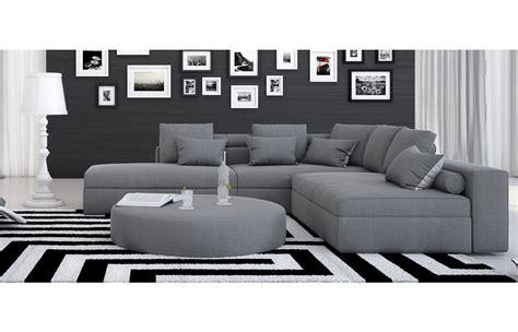 stoffsofa ari ecksofa  grau  home sofa stoff