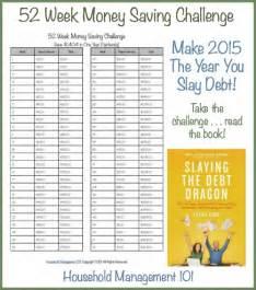 Saving 52 Week Money Challenge Printable