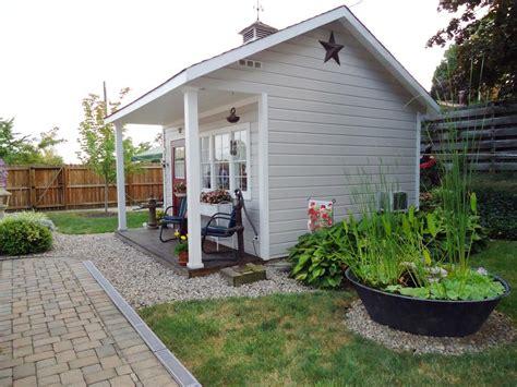 decorating a shed charming garden retreats hgtv