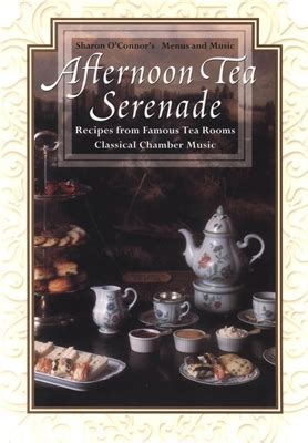 afternoon tea serenade menus