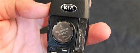 kia key fob battery replacement