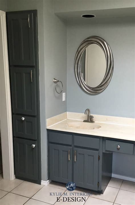 ideas for updating kitchen cabinets bathroom with almond bone beige fixtures and countertop