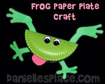 frog paper plate bible craft for sunday school www 804   b180f729cd0009d50f13cca12030f91f