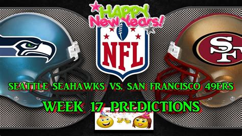 seattle seahawks  san francisco ers predictions