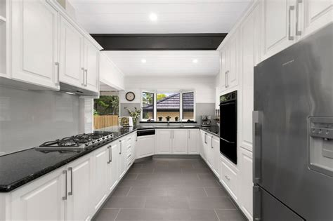 kitchen farm sinks for major extension renovation at coogee 8060
