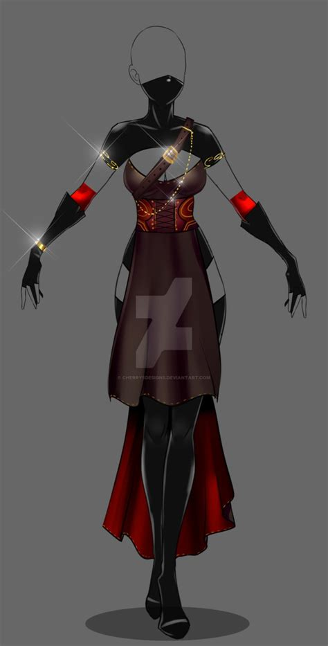(closed) Auction Adopt - Outfit 246 by CherrysDesigns on DeviantArt