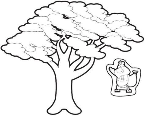 zacchaeus   tree cut outs sunday school crafts