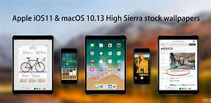 Download iOS 11 and MacOS 10.13 High Sierra stock ...