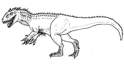 Dino kleurplaat kit berço baby dinosaurs dinosaur crafts. hybrid dinosaur indominus rex coloring picture   Dinosaur ...